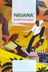 Aurora Indica 100% - Nirvana - 5 feminisierte Hanfsamen