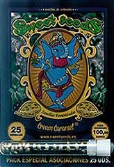 Cream Caramel 100% - Sweet Seeds - 25 feminisierte Hanfsamen