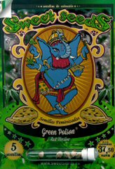 Green Poison FAST VERSION 100%- Sweet Seeds - (5) феминизированные семена конопли