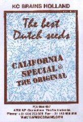 Comprar California Special (5) en Hipersemillas
